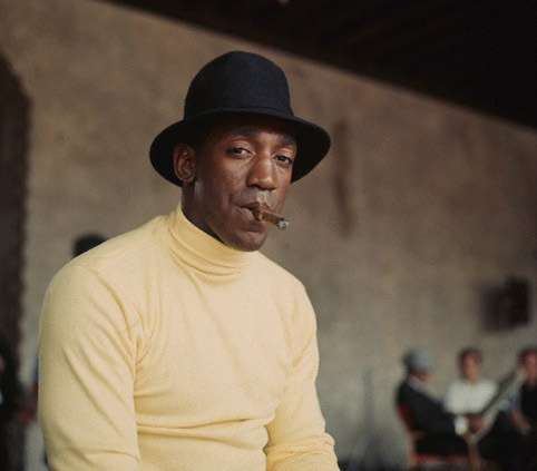 Bill Cosby with cigar