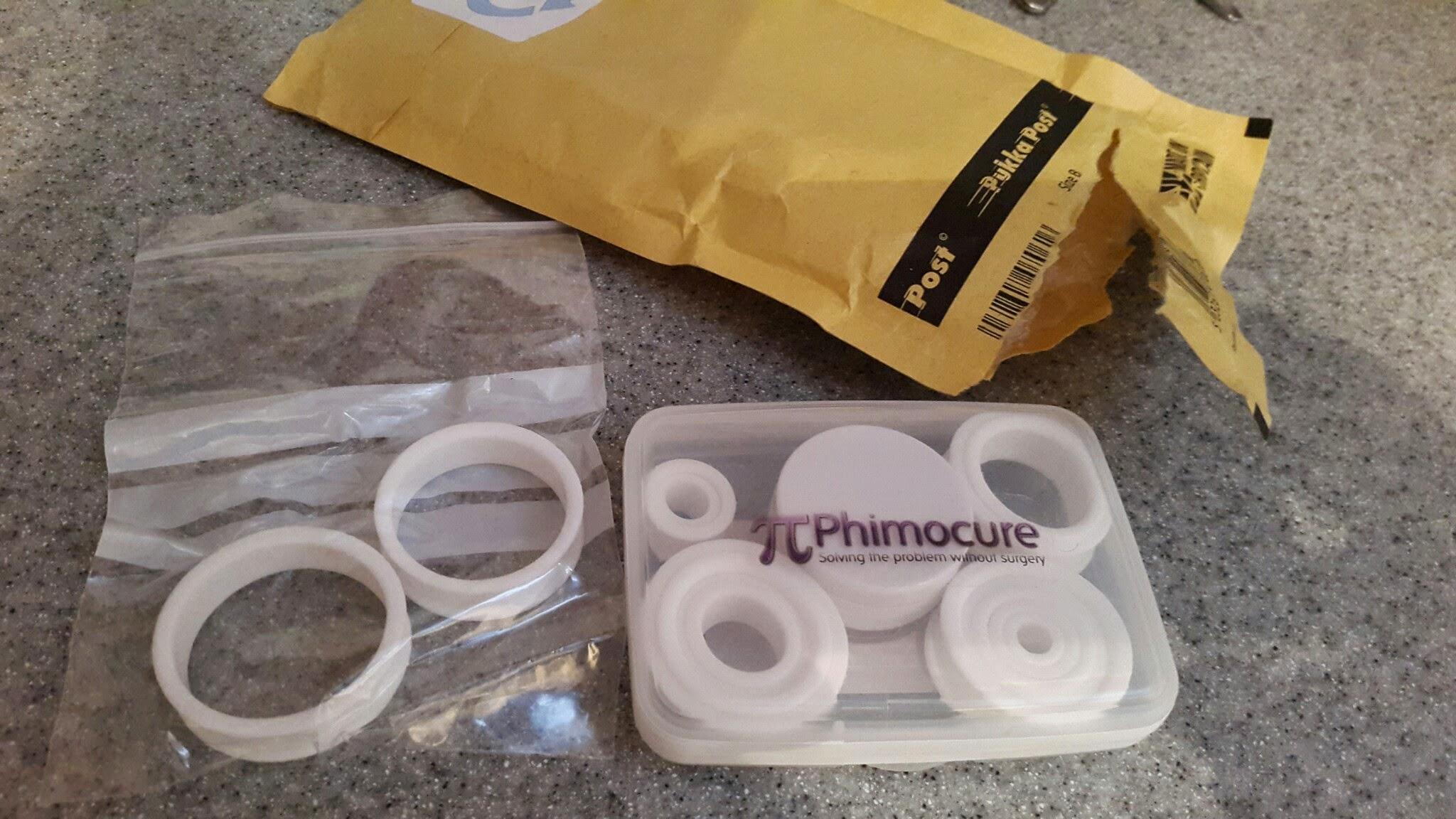 Phimocure rings